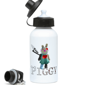 Cyborg bunny skin from Piggy 400ml Water Bottle