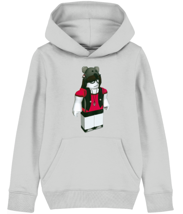 shade of blue Roblox child's hoodie shade of blue