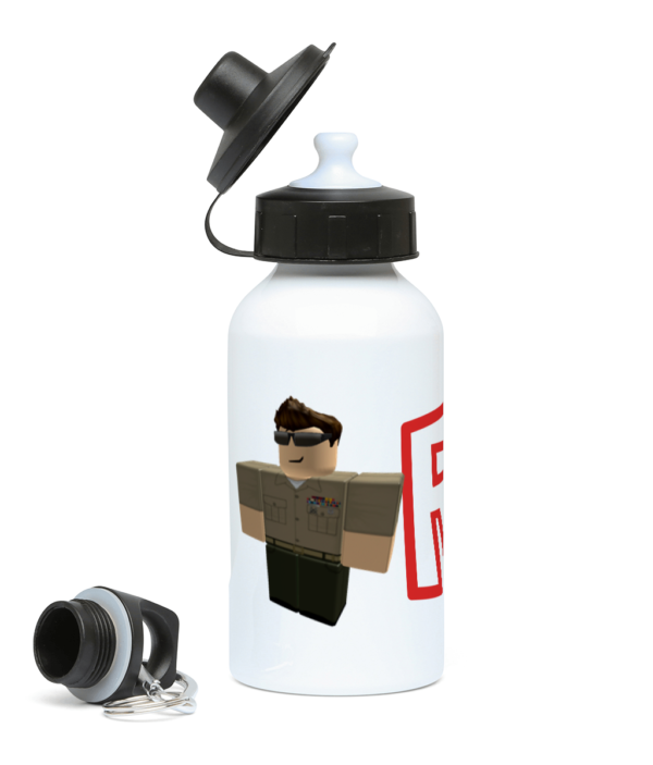 US army Roblox Character 400ml Water Bottle US army Roblox Character 400ml Water Bottle