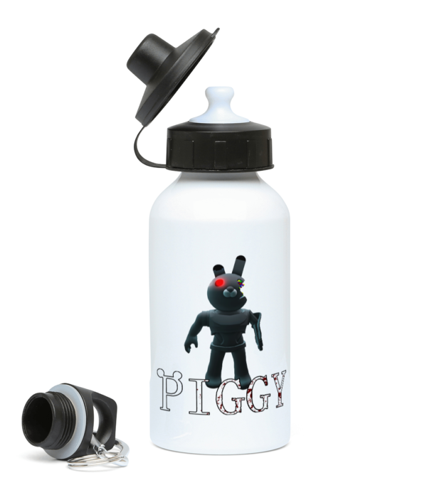 Robot Bunny piggy skin 400ml Water Bottle Robot Bunny piggy skin 400ml Water Bottle