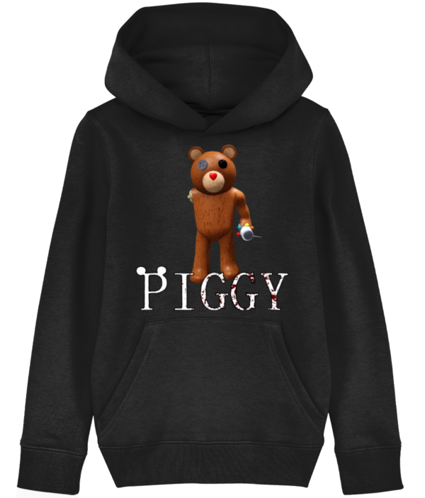 Valentine Teddy Piggy Skin from Roblox Piggy Game child's hoodie piggy skin