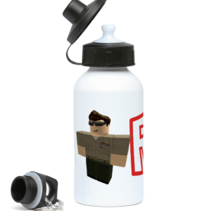 US army Roblox Character 400ml Water Bottle