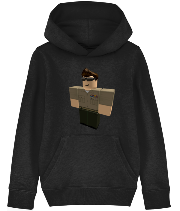 US army Roblox Character child's hoodie