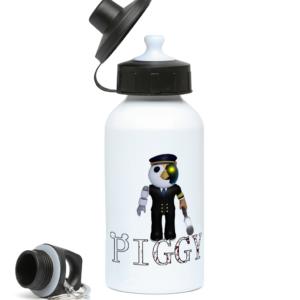 Captain Owl Piggy Skin from Piggy ARP 400ml Water Bottle