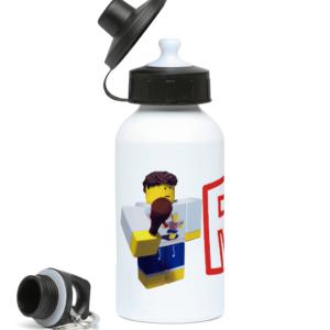 shedletsky Roblox Character  400ml Water Bottle