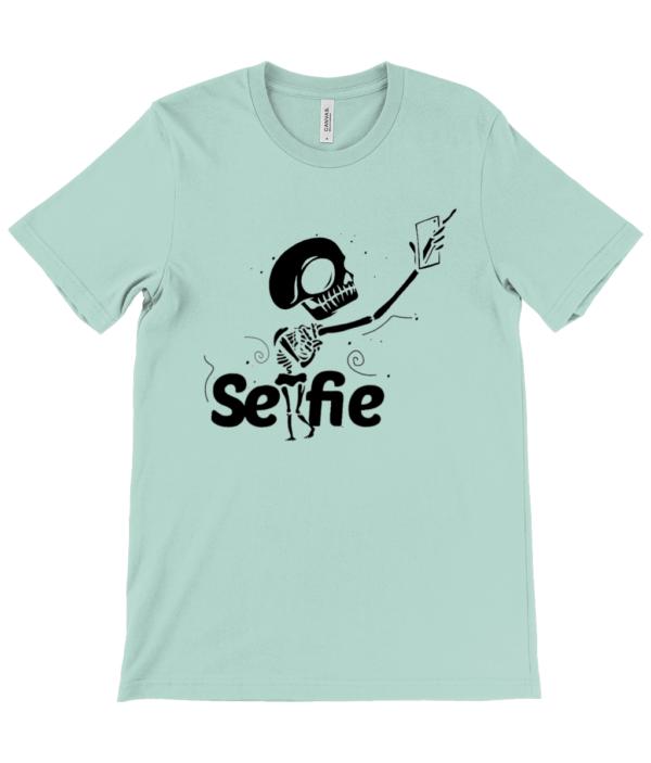 Unisex Crew Neck T-Shirt selfie selfie tshirt