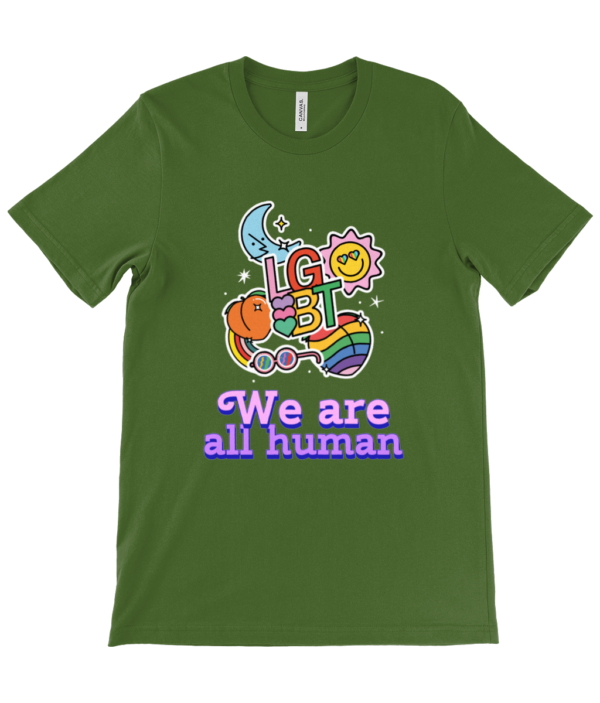We Are Human Unisex Crew Neck T-Shirt we are human