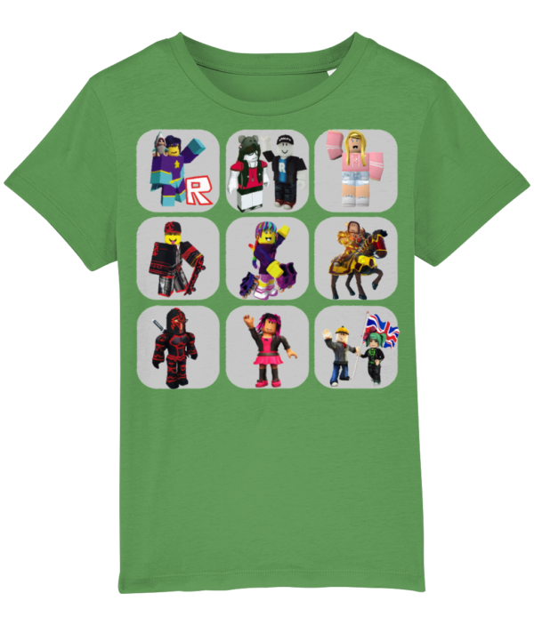 Roblox characters child's t-shirt, various sizes and colours roblox