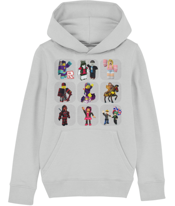 Roblox characters child's hoodie, various sizes and colours Roblox characters