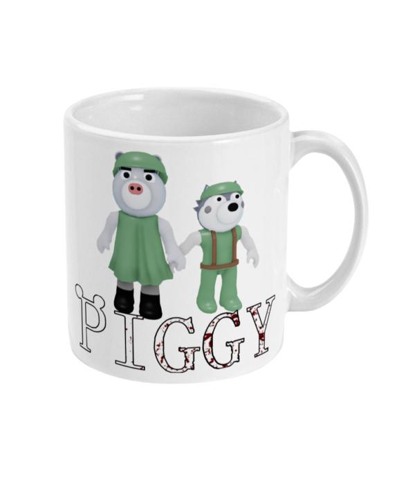 Daisy and William Piggy ARP Skin  11oz Mug Daisy and William