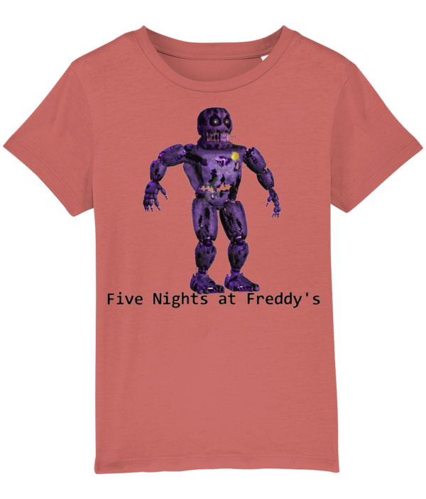 Infected security from Five night's at Freddy's Five nights at Freddy's