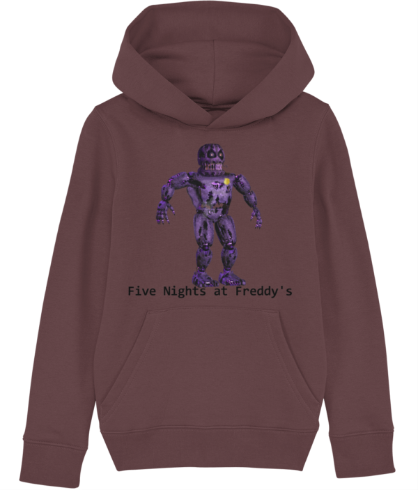 Infected security from Five night's at Freddy's child's hoodie