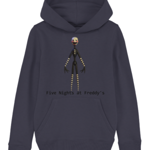 Jigsaw puppet from Five night's at Freddy's child's hoodie