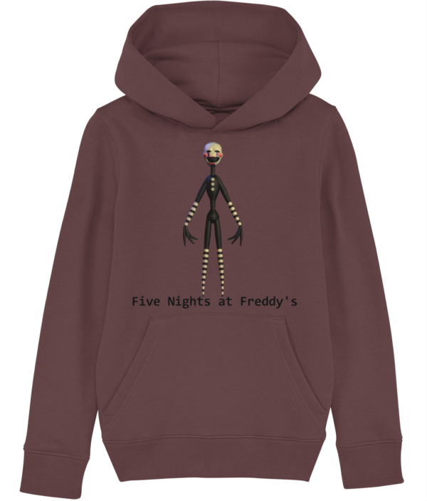 Jigsaw puppet from Five night's at Freddy's child's hoodie Five nights at Freddy's