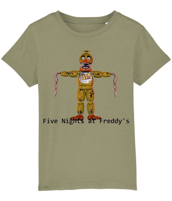 Withered chica from Five Nights at Freddy's Five nights at Freddy's