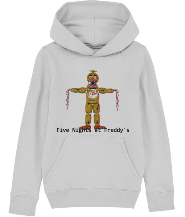 Withered chica from Five Nights at Freddy's child's hoodie Withered Chica