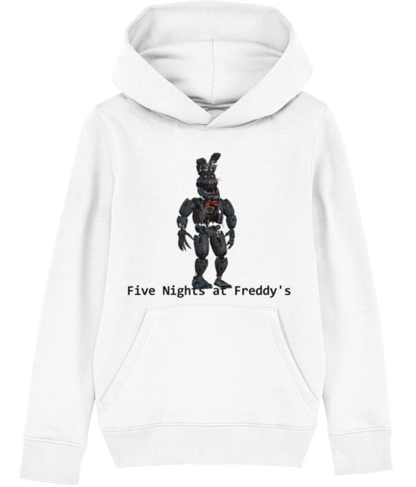 Withered bonnie from Five nights at Freddy's child's hoodie Withered bonnie