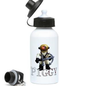 Dakoda piggy skin from piggy ARP 400ml Water Bottle