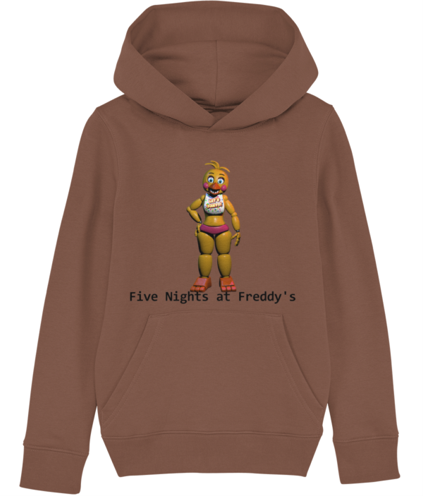 Toy Chica from Five Nights at Freddy's child's hoodie toy chica