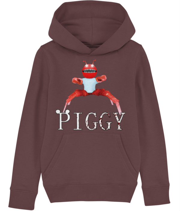 Crabby skin piggy arp child's hoodie piggy skin