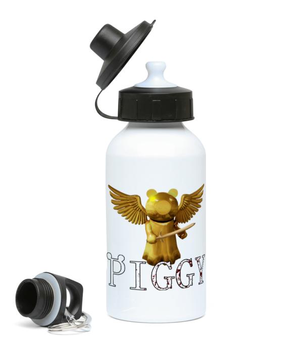 Gold piggy skin from Piggy ARP 400ml Water Bottle gold piggy