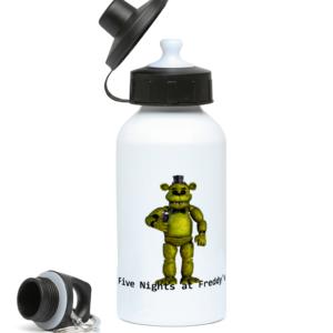 Golden Freddy skin from Five nights at Freddy's 400ml Water Bottle