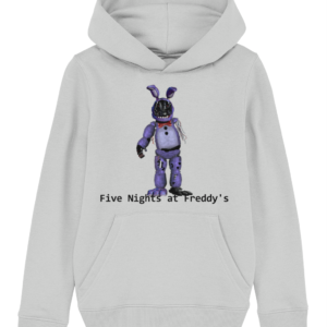 Withered barney from Five Nights at Freddy's child's hoodie
